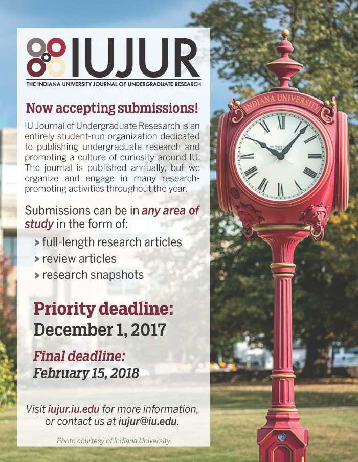 IUJUR Info - Fall 2017