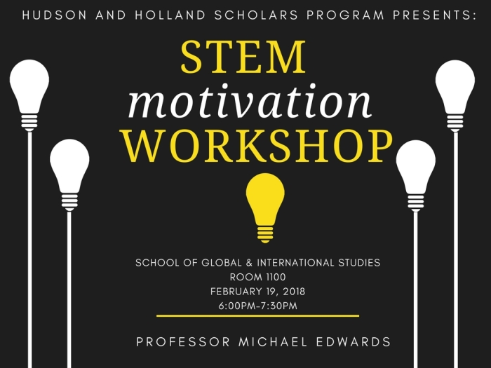 STEM MOTIVATION WORKSHOP FLYER_spring 2018