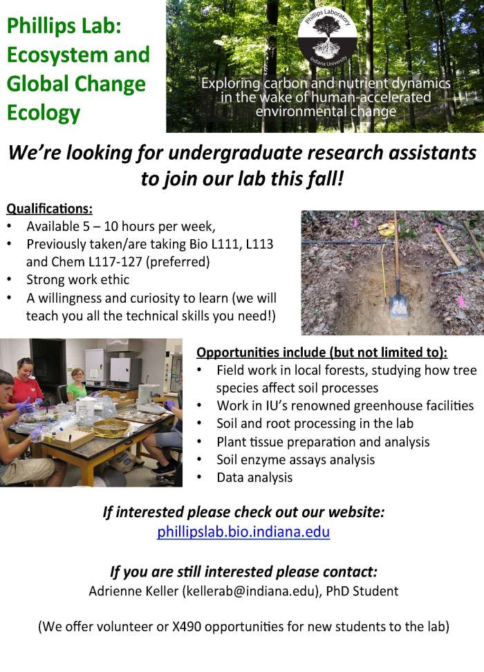 PhillipsLab_StudentVolunteerFlyer_Fall2018