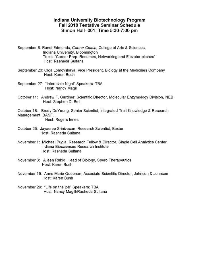 Speakers List_Fall 2018