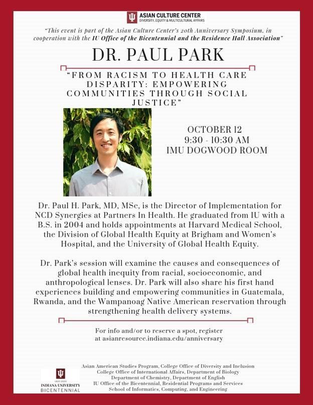 Dr. Paul Park