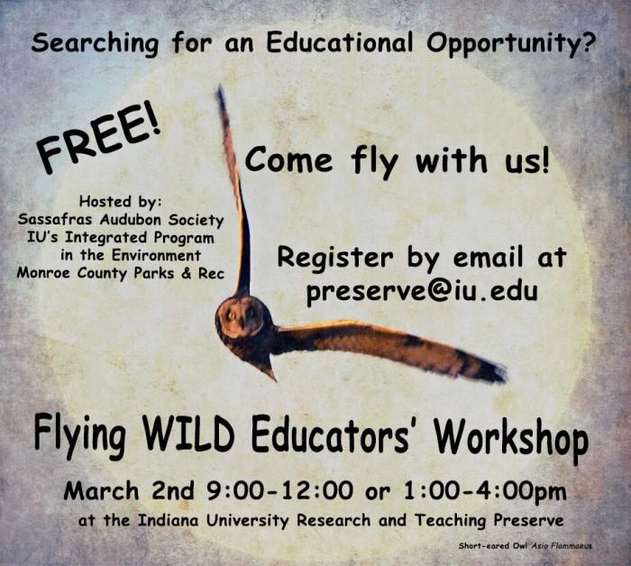 Spring 2019 Flying Wild workshop