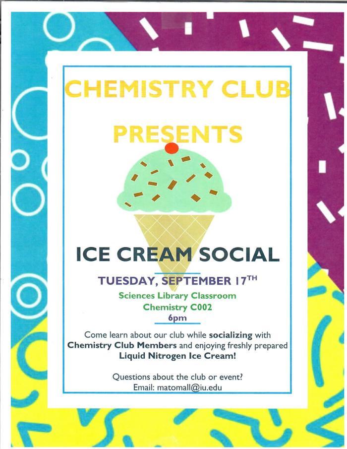 Chem Club Social